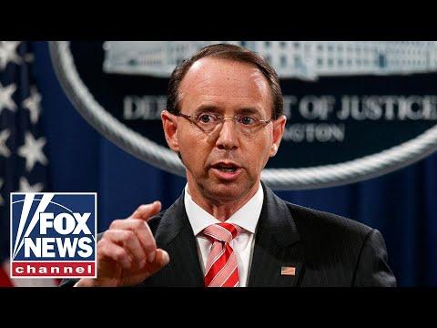 Rosenstein denies report he suggested recording Trump