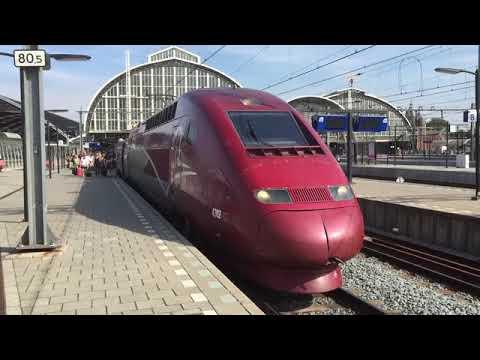 Drivers Eye View TGV Thalys Amsterdam   Brussels 2015