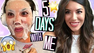 COSA FANNO LE YOUTUBERS??? 5 DAYS IN MY LIFE! IL MIO PRIMO WEEKLY VLOG !!! | Adriana Spink