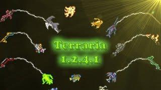 Terraria 1.2.4.1 - Рыбалка (Удочки, наживка, улов и прочее)