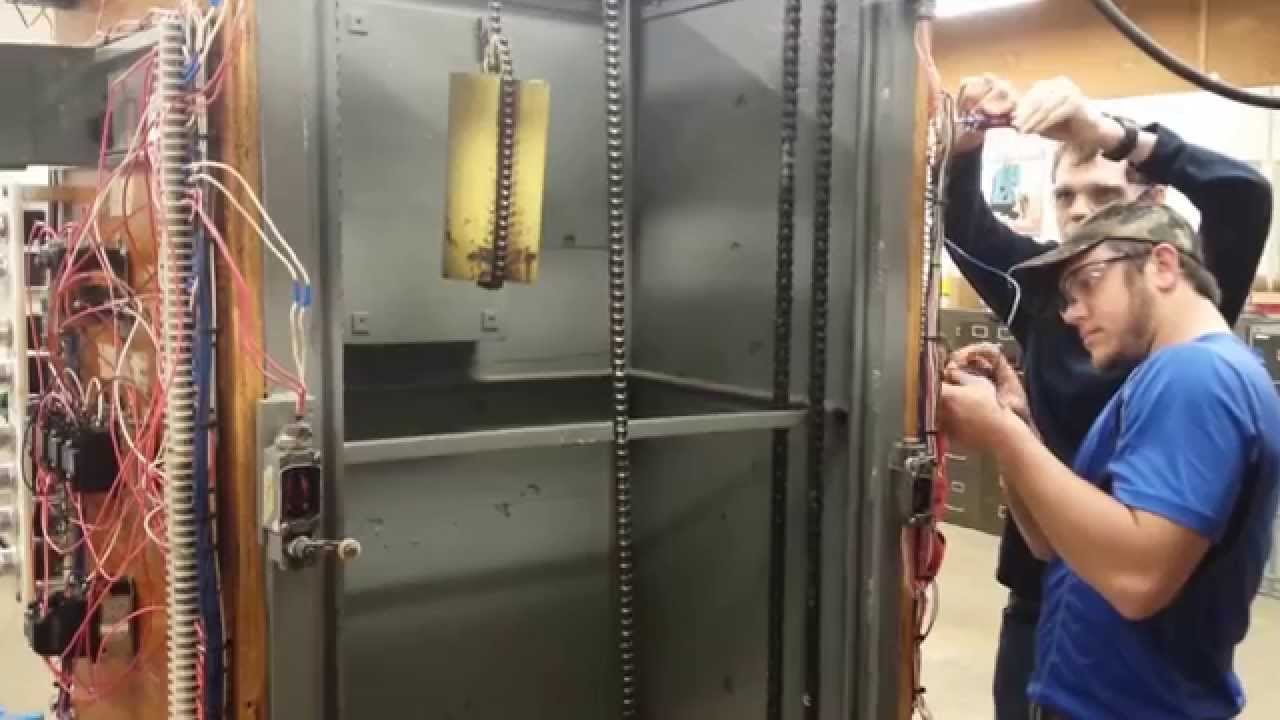 College Elevator Wiring Lab - YouTube