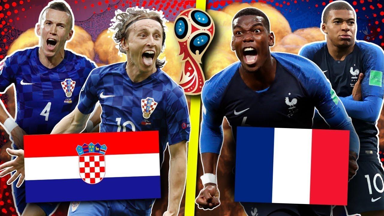 Mon Pronostic Pour La Finale De La Coupe Du Monde France Croatie