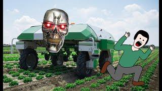 Ох уж эти заграничные технологии! Автоматизация в сельском хозяйстве!