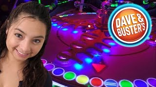 Playing Games at Dave & Buster