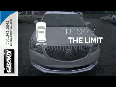 2015 buick lacrosse conway ar little rock ar 5bc6564 sold youtube. Black Bedroom Furniture Sets. Home Design Ideas
