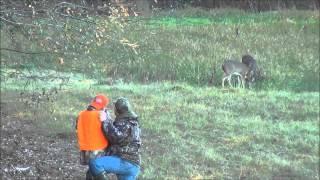 Rustins first deer kill