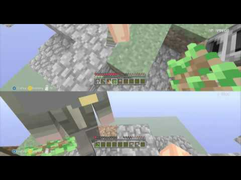 Minecraft sky block part 2