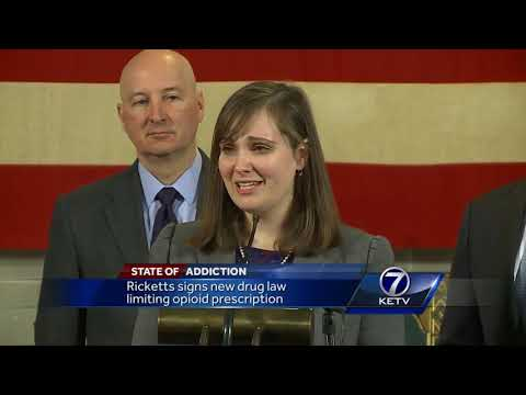 State of Addiction: Ricketts signs new drug law limiting opioid prescription