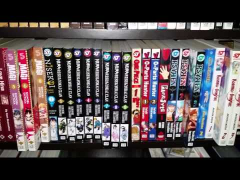 Manga and Anime Shelf Tour (New Years 2015 Collection w/e it's called :P). VERY UNPROFESSIONAL
