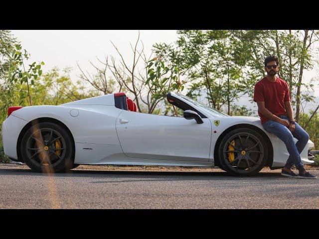 Ferrari 458 Italia Spider - 9000 RPM