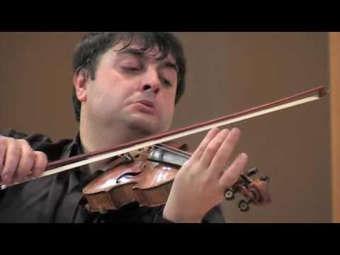 Bloch. Nigun. Graf Mourja (violin), Natalia Gous (piano)