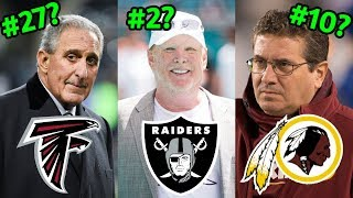 Ranking all 32 NFL Owners of 2019 from WORST to FIRST