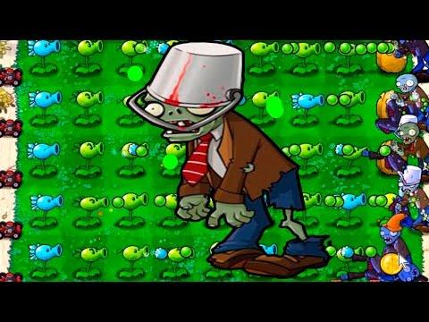 Игра - Растения Против Зомби - смотреть прохождение от Flavios #30