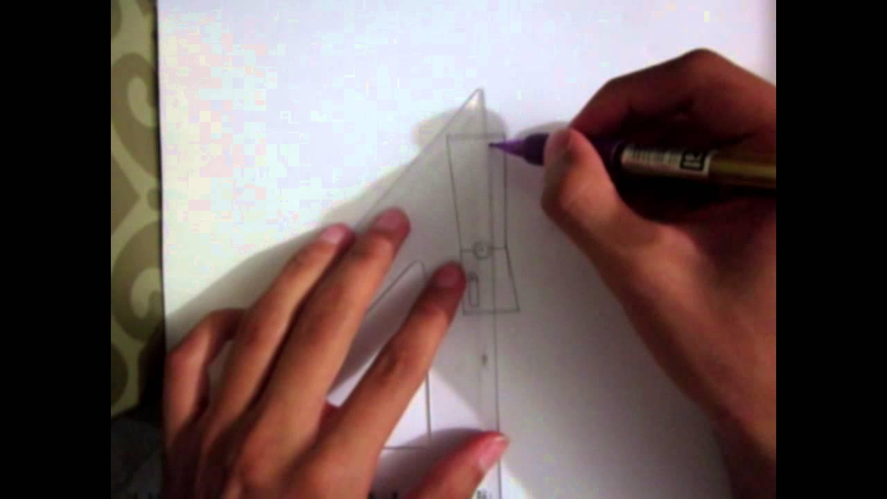 Como dibujar un Xbox 360 Slim Para Principiantes  YouTube