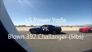 Supercharged Challenger Vs LS Swap 84 Toyota Pick-up
