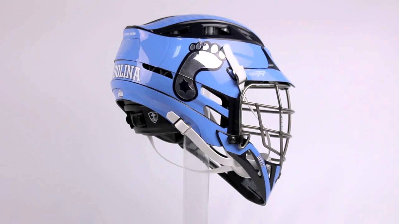 2013 North Carolina Tar Heels CPX-R with Titanium Facemask ...