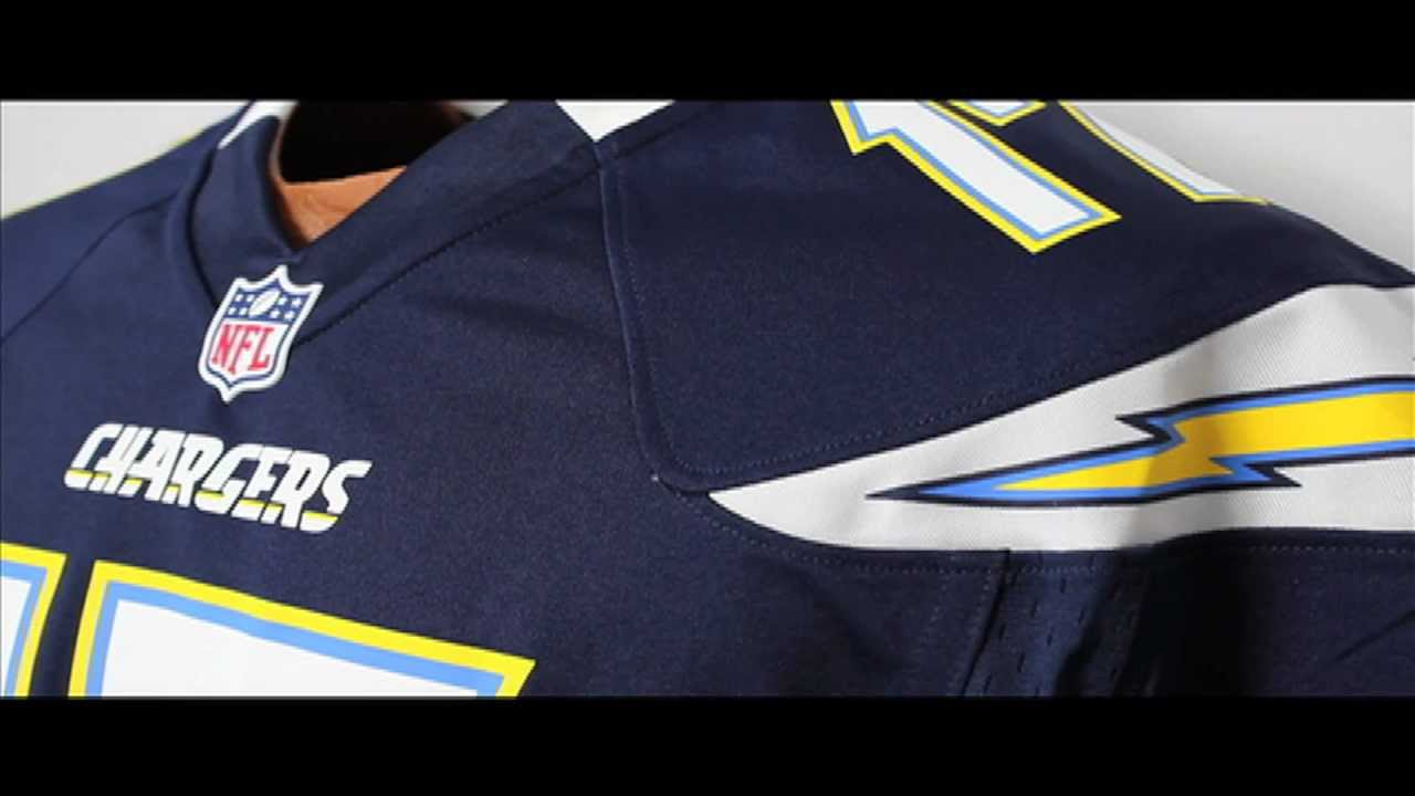 nfl chargers jersey