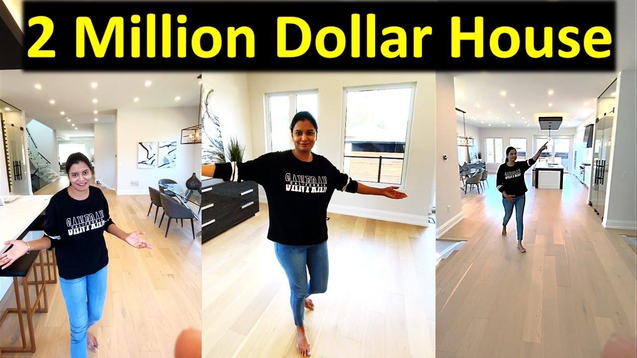 2 Million Dollar House In Canada | Custom Build House Tour | Canada Couple Vlogs