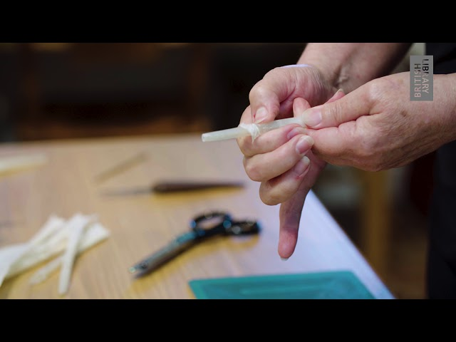Making Manuscripts: Quills