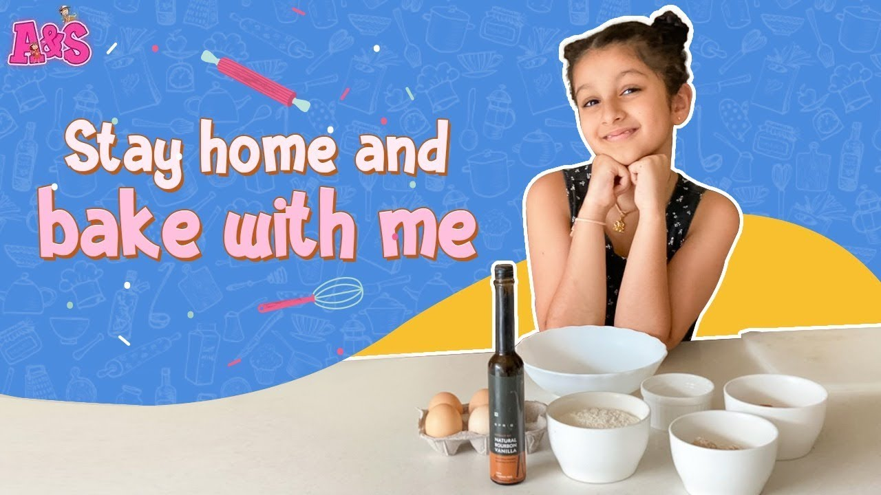 Stay Home And Bake With Me | Easy Cake Recipe | Sitara Ghattamaneni | Aadya & Sitara Vlogs