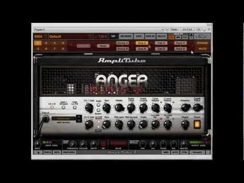 AmpliTube 3 Anger (Engl) - Metal Sound raw mix (HD)