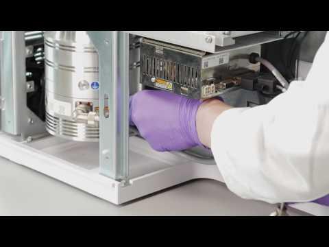Agilent IDP-3 Dry scroll pump for 597x series GC/MSD - Installation Video