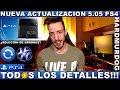 ¡¡¡NUEVA ACTUALIZACIÓN 5.05 PS4!!! - Hardmurdog - Noticias - 2018 - Español