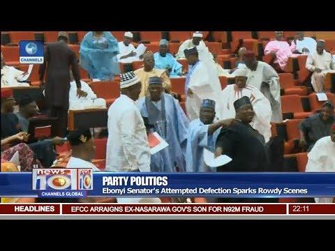 Ebonyi Senator's Attempted Defection Sparks Rowdy Scenes