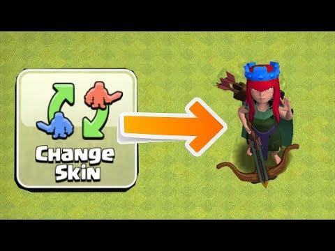 NEW QUEEN SKIN CHANGE!!