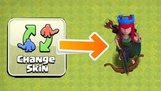 "NEW QUEEN SKIN CHANGE!! ""Clash Of Clans"" SLOOF LIPRA"