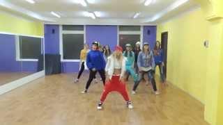 Хип-хоп, взрослая группа, хореограф - Вашеця-Калмыкова Юлия