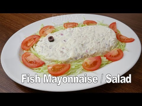 Fish Mayonnaise Recipe | Fish Salad Recipes Easy | Goan Food Recipes | Easy Fish Recipes