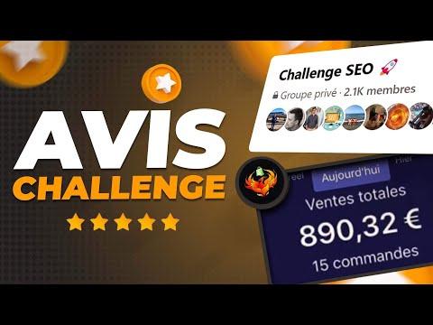 AVIS et RÉSULTATS du CHALLENGE SEO (formation dropshipping)