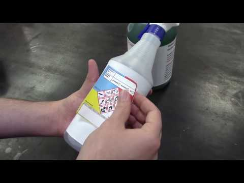 GHS Secondary Chemical Labeling System