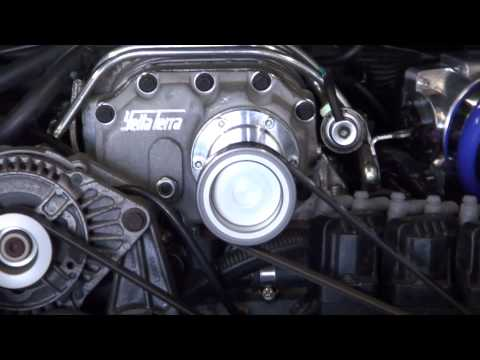 VY Commodore L67 Supercharged V6 Dyno Run