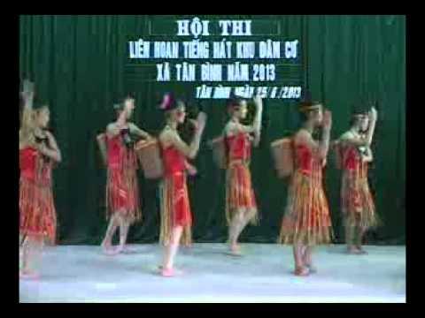 Múa Tiếng chày trên Sóc Bombo- giải A tại hội thi tiếng hát khu dân cư