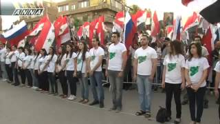 Сирия чествует Путина и Россию