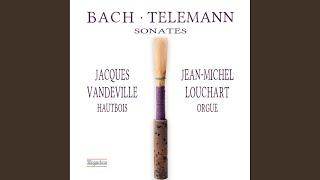 Violin Sonata in G Minor, Wq. deest (Arr. for Oboe & Organ) : I. Allegro