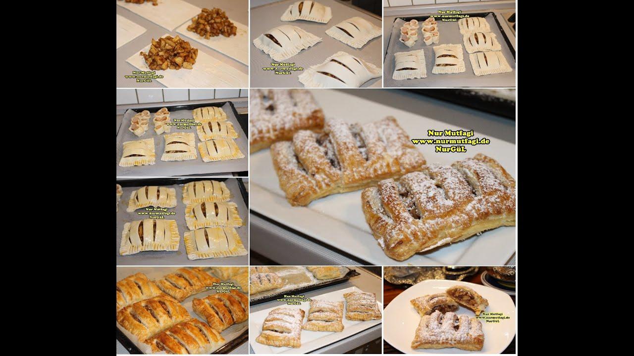 Kayısılı Milföy Pasta