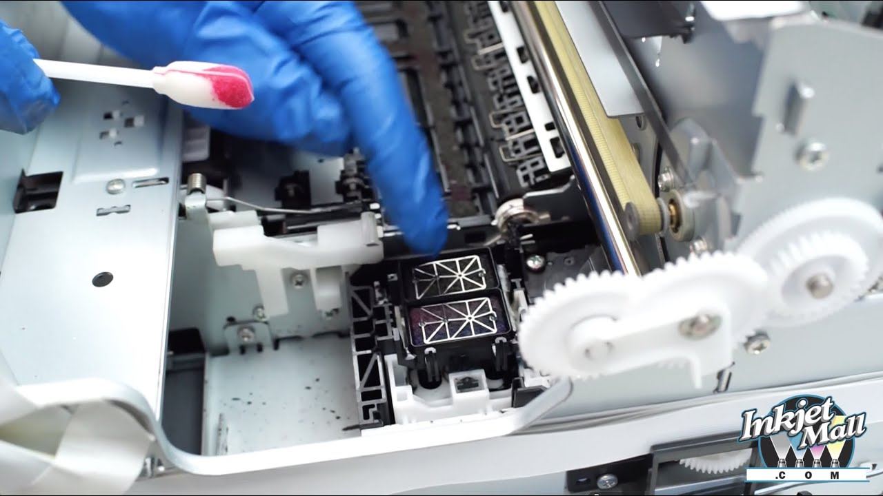 How to Professionally Clean Epson 3800 & 3880 Printers