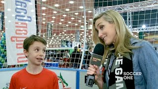 NSCAA Convention Exhibit Hall Tour - SoccerOne Exclusive
