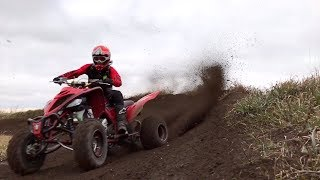 2019 Raptor 700 Quad Vlog at Appleton ATV Park