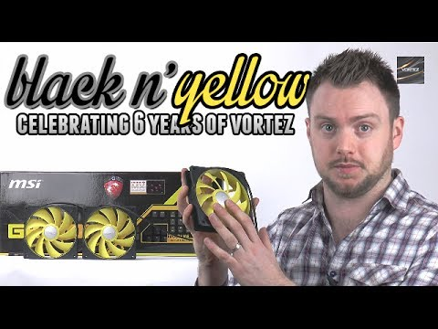 Black N' Yellow Prize Giveaway - Celebrating 6 Years of Vort
