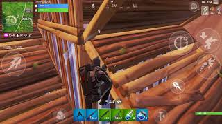 Fortnite Mobile Enforcer/Road Trip Skin 7 Kill Game Play
