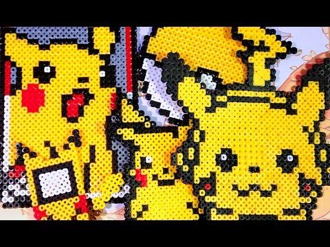 Pokémon Pixel Art Pikachu Réception D Un Nouveau Talent