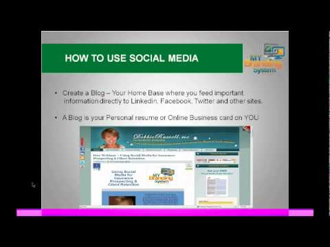Social Media and Insurance Agents