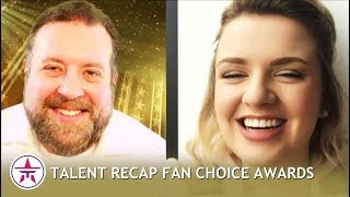 THE RESULTS: AND THE WINNERS ARE... + Maddie Poppe Interview | Talent Recap Fan Choice Awards