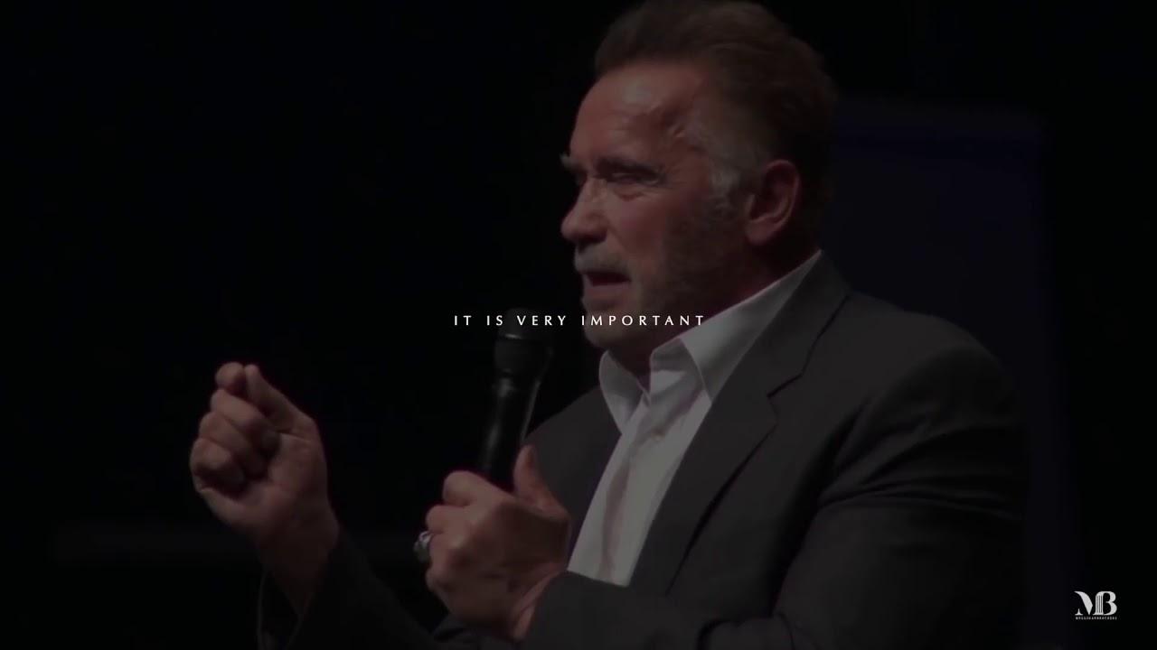 Increible Discurso De Arnold Schwarzenegger Una Verdadera Inspiración Reglas Para El éxito