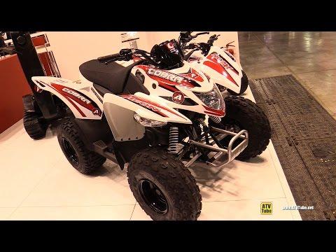 2016 Aeon Cobra 50 Sport ATV - Walkaround - 2015 EICMA Milan