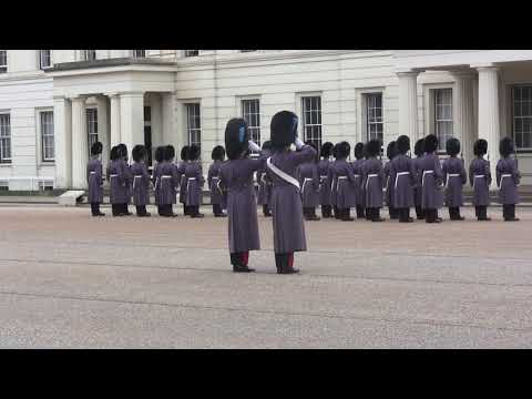 Band of the Scots Guards, Changing the Guard, Irish Guards,March 9, 2018, Extended